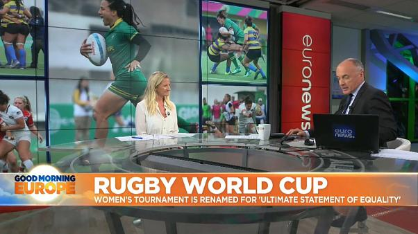Rugby World Rugby announces gender neutral naming for World Cup tournaments