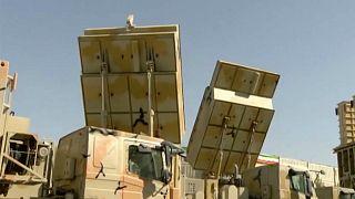 صورة من فيديو نشرته وكالات الإعلام الإيرانية الرسمية اليوم