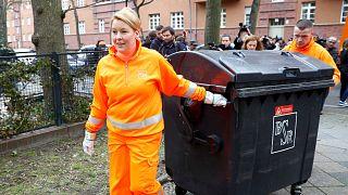 Avrupa'da 2017 yılında belediyelerce kişi başı 486 kg atık toplandı