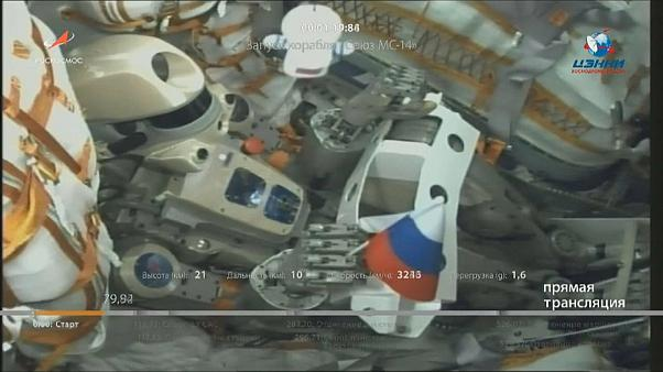 Fedor takes a piece of home with him to the ISS