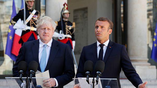 """Macron: """"No habrá nueva negociación del Brexit"""""""