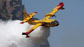 Türkiye'deki yangın uçakları: Akdeniz ülkelerinin kaç yangın söndürme uçağı var?