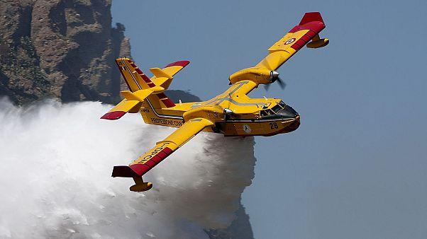 Akdeniz ülkelerinde kaç yangın söndürme uçağı var?