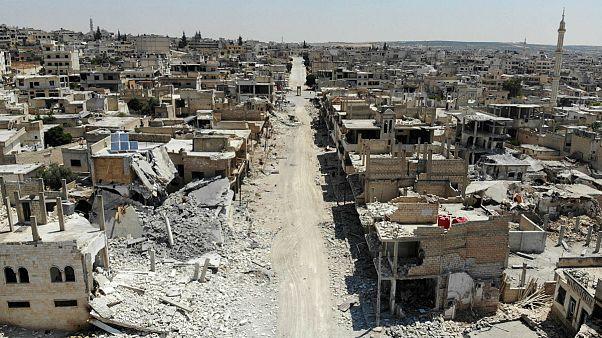 کریدور ارتش سوریه برای خروج مردم از مناطق تحت کنترل شورشیان در ادلب