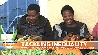 Women lead the efforts to tackle inequality in Rwanda
