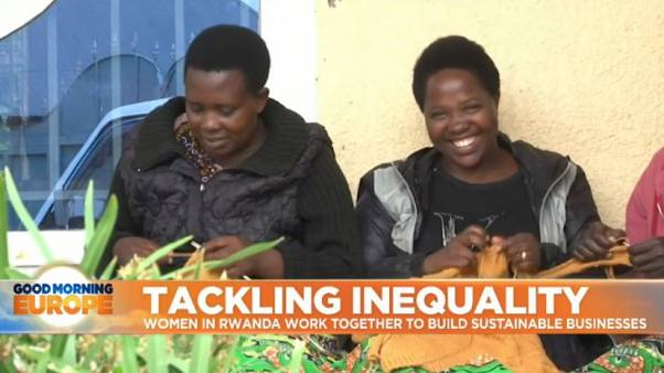 Women lead the efforts to tackle inequality in Rwanda