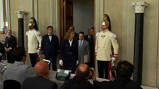 Matarella se reúne con los líderes políticos italianos