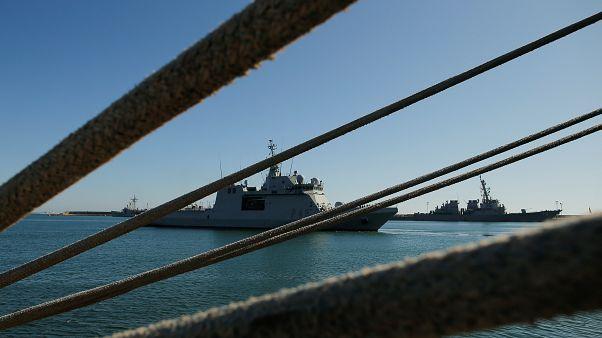 Imagen de la Armada española 'Audaz'