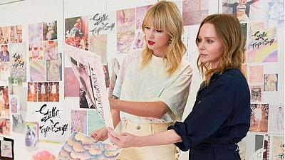 Taylor Swift has collaborated with Stella McCartney to celebrate the release of her new album