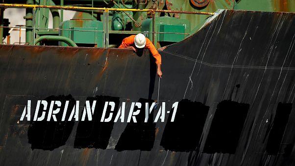 Cebelitarık'ın serbest bıraktığı İran petrol tankeri rotasını Yunanistan'dan Türkiye'ye çevirdi