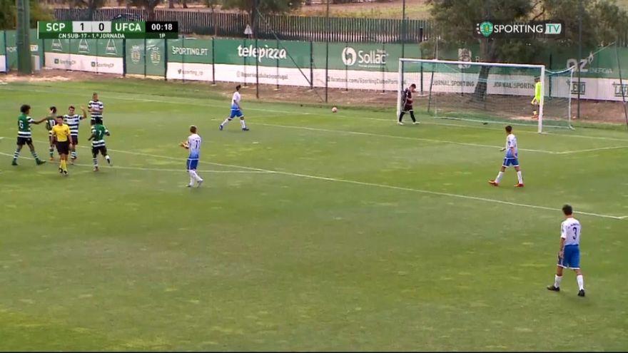 Sporting Lisbon Under-17 vs União Almeirim