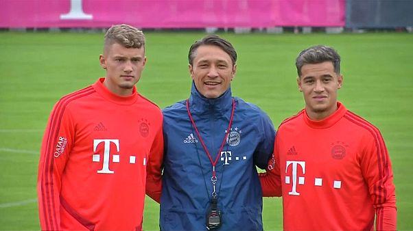 Bayern-Neuerwerbung Coutinho wohl erst mal auf der Bank