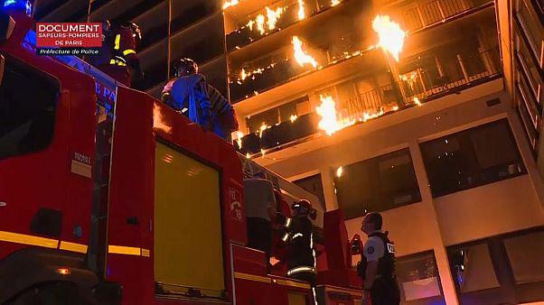 حريق مستشفى هنري-موندور