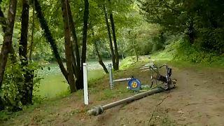 La Slovénie renforce les barrières à sa frontière avec la Croatie