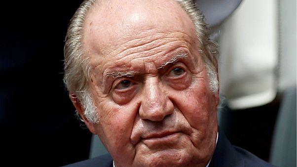 الملك السابق خوان كارلوس- أرشيف رويترز