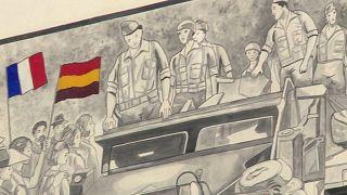 Españoles en la liberación de París