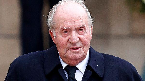 El rey emérito de España Juan Carlos I en Luxemburgo, el 4 de mayo de 2019.