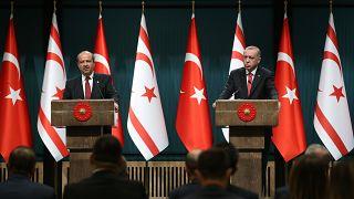 Erdoğan: Doğu Akdeniz'de ne Türkiye'yi ne de KKTC'yi yok sayan hiçbir proje hayata geçirilemez