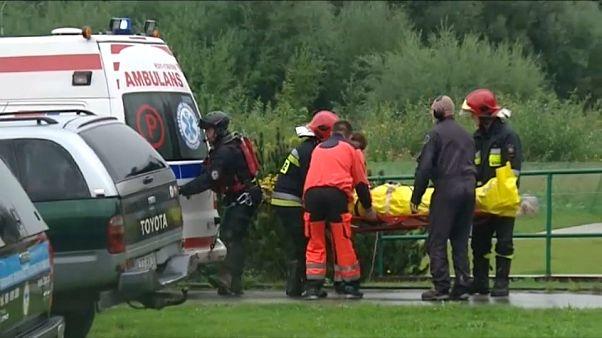 Blitzschlag im Tatra-Gebirge: 5 Tote und 100 Verletzte