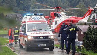 صاعقه در لهستان جان ۵ نفر را گرفت