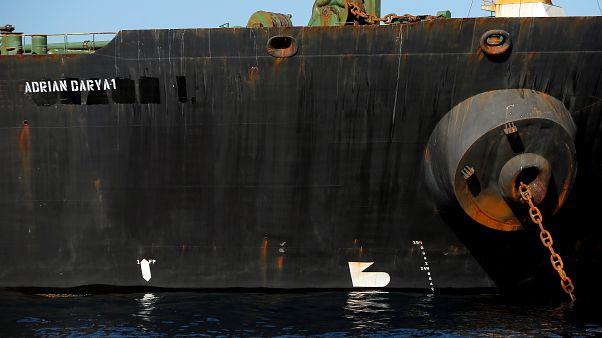 ABD'nin kara listeye aldığı İran petrol tankeri Türkiye karasularından çıktı
