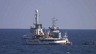 Las autoridades italianas retienen al Open Arms