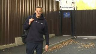 Навальный снова на свободе