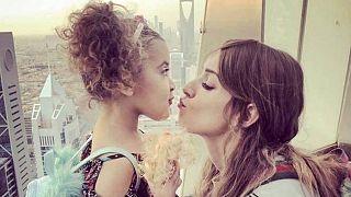Bethany Vierra ve kızı Zaina