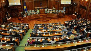 Parlamento de Kósovo, el 22 de agosto de 2019.