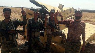 Az utolsó ellenzéki bástyák ellen indított offenzívát a szíriai hadsereg
