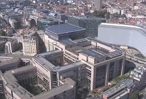 Замена  брюссельского конференц-центра