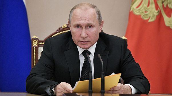ولادیمیر پوتین دستور پاسخ متقابل به آزمایش موشکی آمریکا را صادر کرد