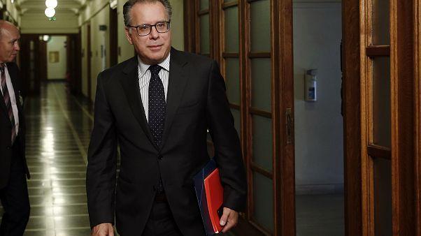 Ο αναπληρωτής υπουργός Προστασίας του Π��λίτη, αρμόδιος για τη μεταναστευτική πολιτική, Γ Κουμουτσάκος