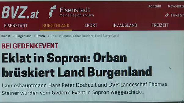"""""""Orbán megsértette Burgenlandot"""""""