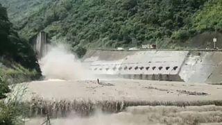 Inondations impressionnantes en Chine