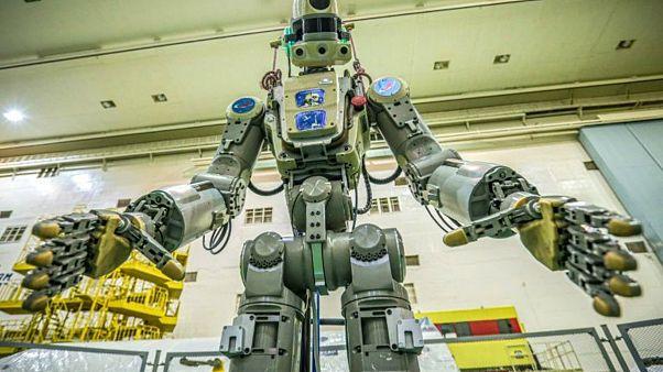Rus insansı robot Fedor türünün ilki olarak uzaya gönderildi