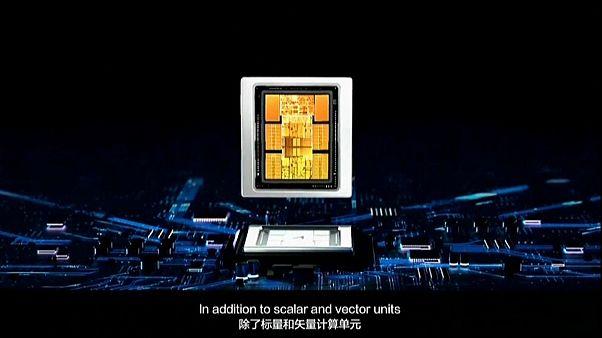 صورة لوحدة المعالجة المركزية أساند 910 من إنتاج العملاق الصيني للتكنولوجيا هواوي