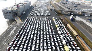 المئات من سيارات فولكسفاغن في ألمانيا