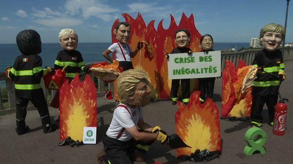 G7 spielen Feuerwehr - oder Brandstifter?