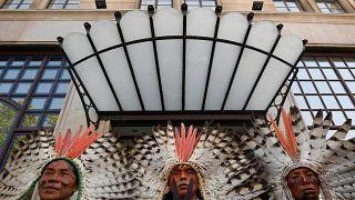 شاهد: مظاهرة لسكان البرازيل الأصليين ضد سياسات بولسونارو المناخية
