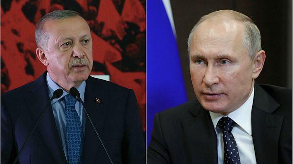Suriye'deki gelişmelerin ardından Erdoğan ile Putin Moskova'da görüşecek