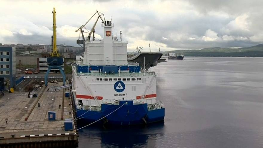 Russland: Schwimmendes Atomkraftwerk
