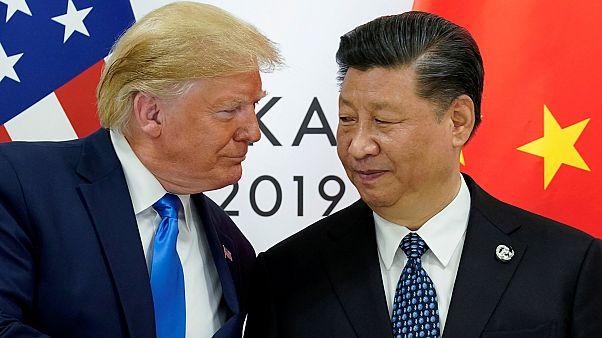 """Trump'tan Çin'de faaliyet gösteren ABD'li şirketlere """"evinize dönün"""" çağrısı"""