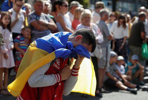 Unabhängigkeitstag in der Ukraine: Popmusik statt Panzer
