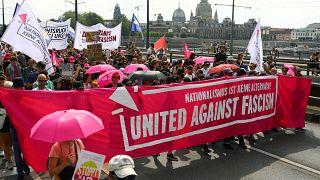 Марш против расизма и «Альтернативы для Германии»