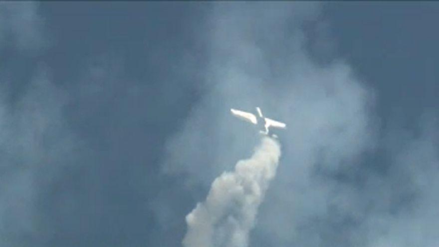ویدئو؛ نمایش مهیج هواپیماها در رومانی