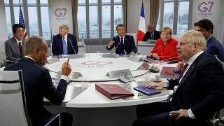 """Саммит """"Большой семёрки"""": воскресное """"меню"""""""