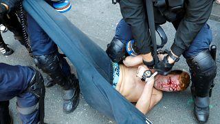 G7 Zirvesi protestolarına polis müdahalesi: En az 68 gözaltı