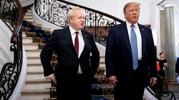 """ترامب يعد بريطانيا باتفاق تجاري """"كبير جدا"""" بعد بريكست"""