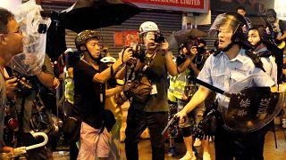 Mais violência em Hong Kong